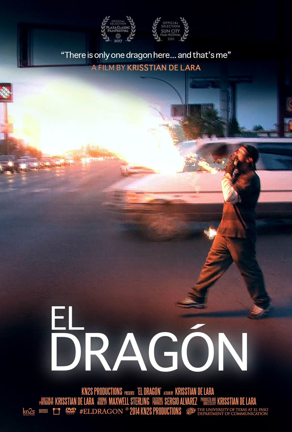 El Dragón Official Movie Poster