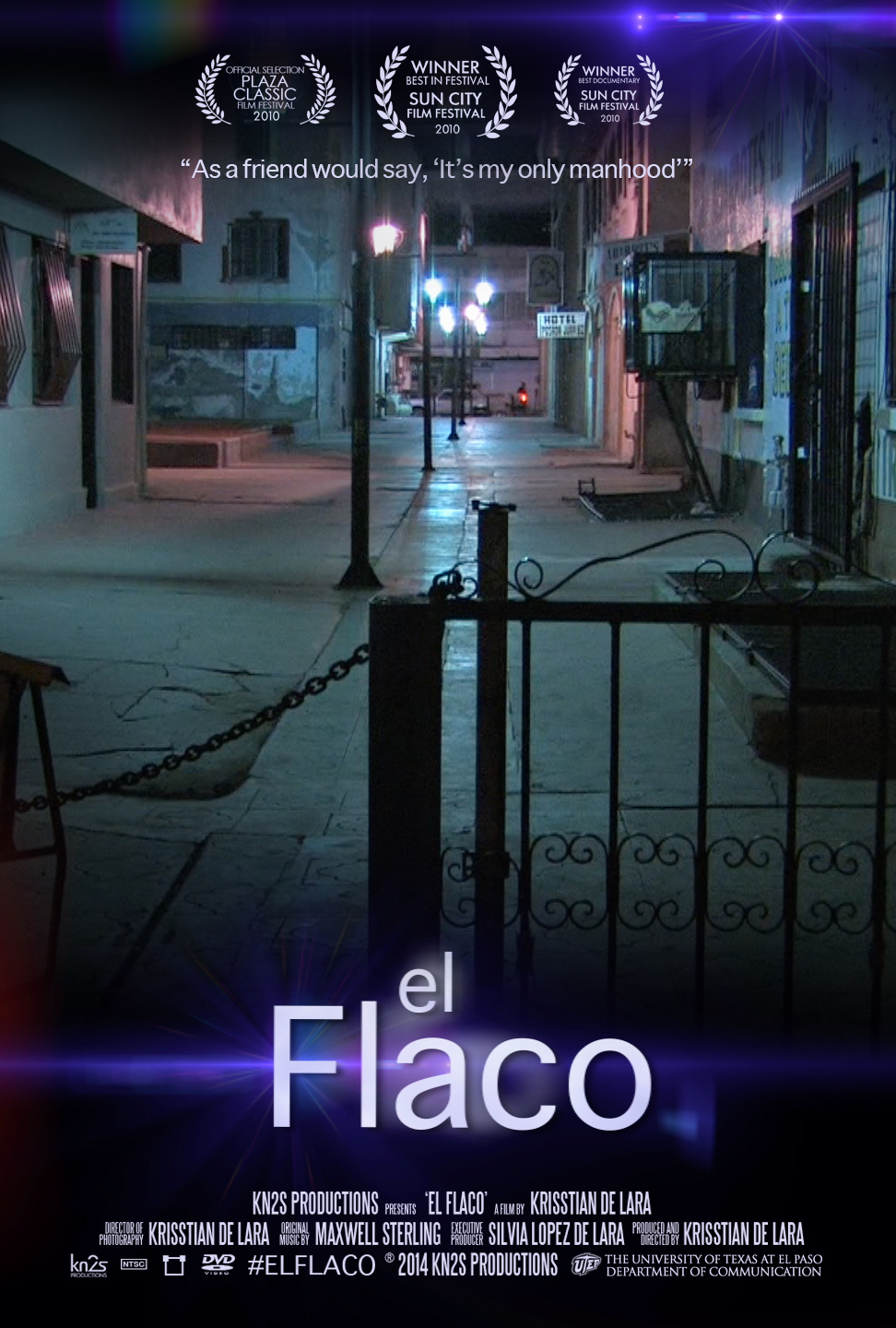 El Flaco Documentary Theatrical Poster