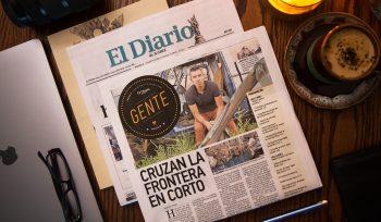 Krisstia de Lara en el Diario de Juarez