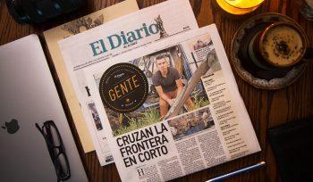 Krisstian de Lara on El Diario de Juarez Entertainment Section